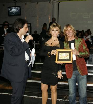 Bagno di vip per Radio Roma al Piper - Mr Paloma