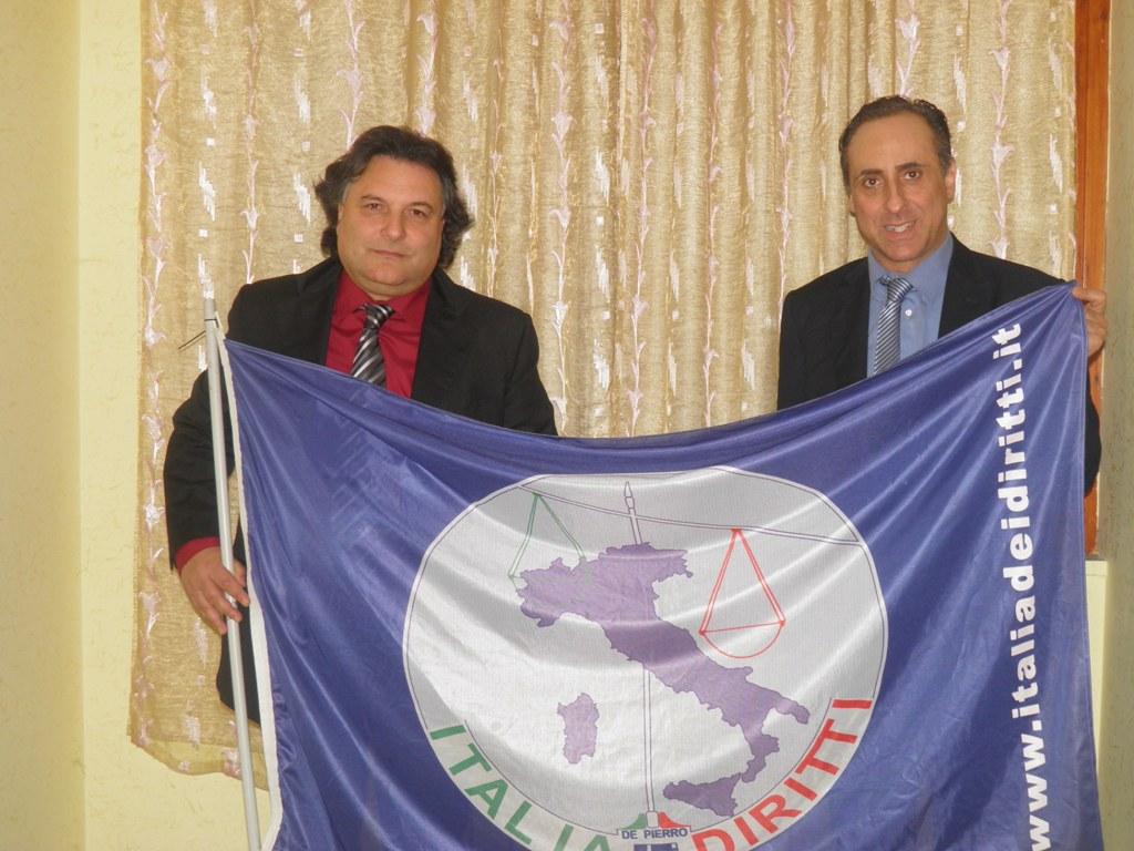 Carlo Spinelli e Antonello De Pierro